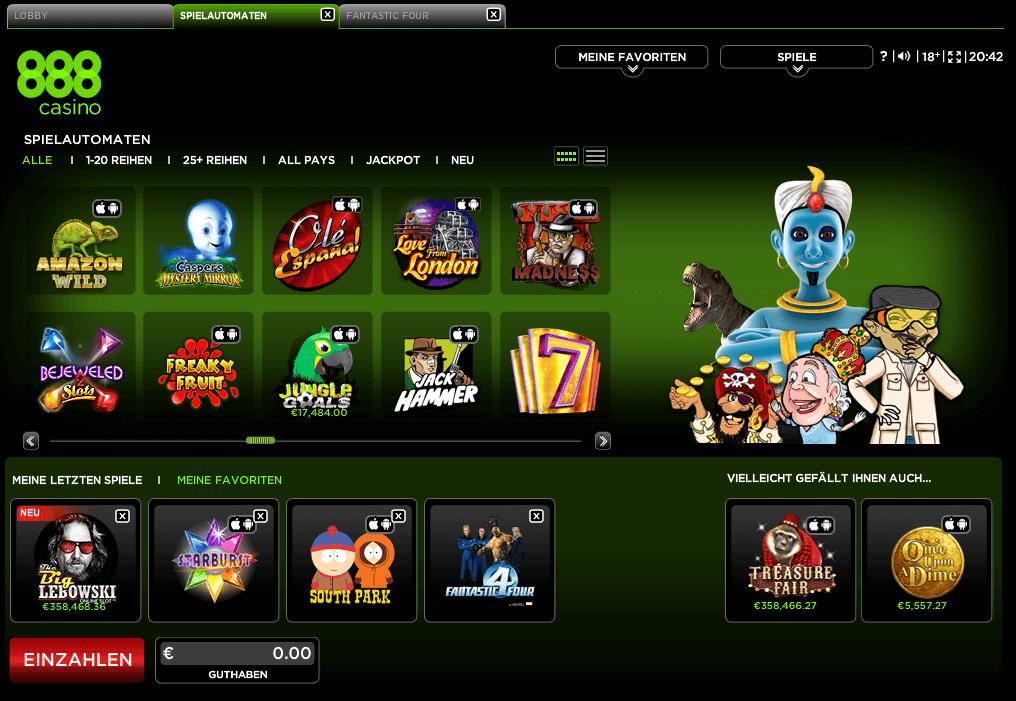 888 Casino 199222