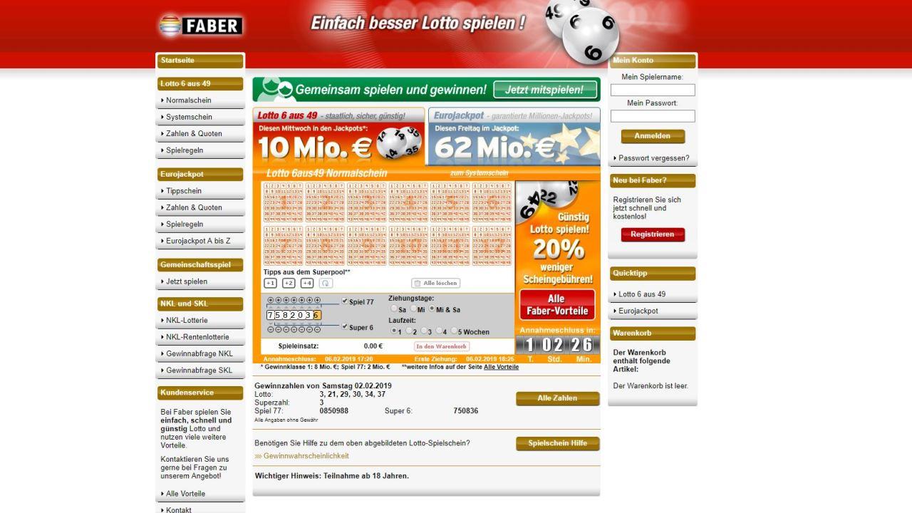 Lotto wirklich 296065