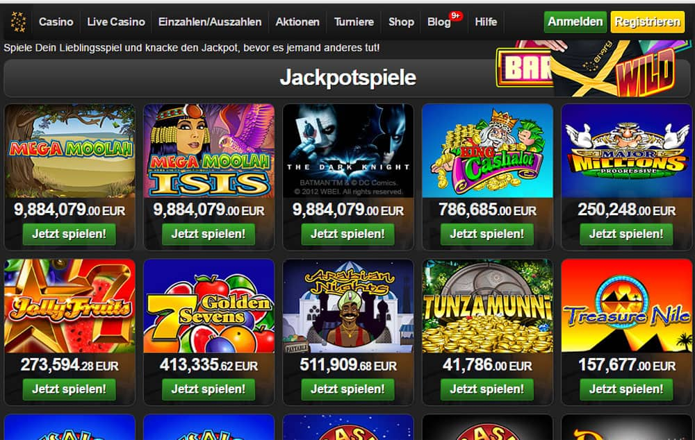 Spielautomaten Bonus 863557