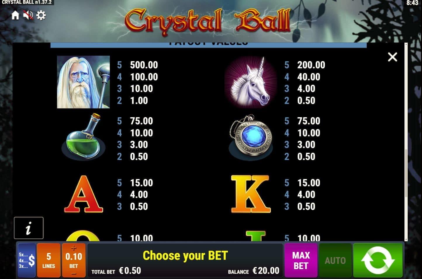 Crystal Ball 60301