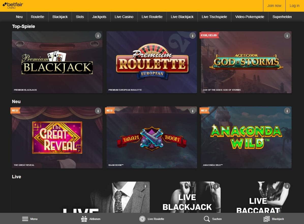 Casino Spiele 257590