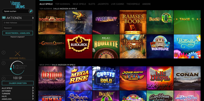 Online Casino mit 705122