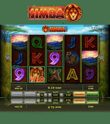African Simba Bonus 481531