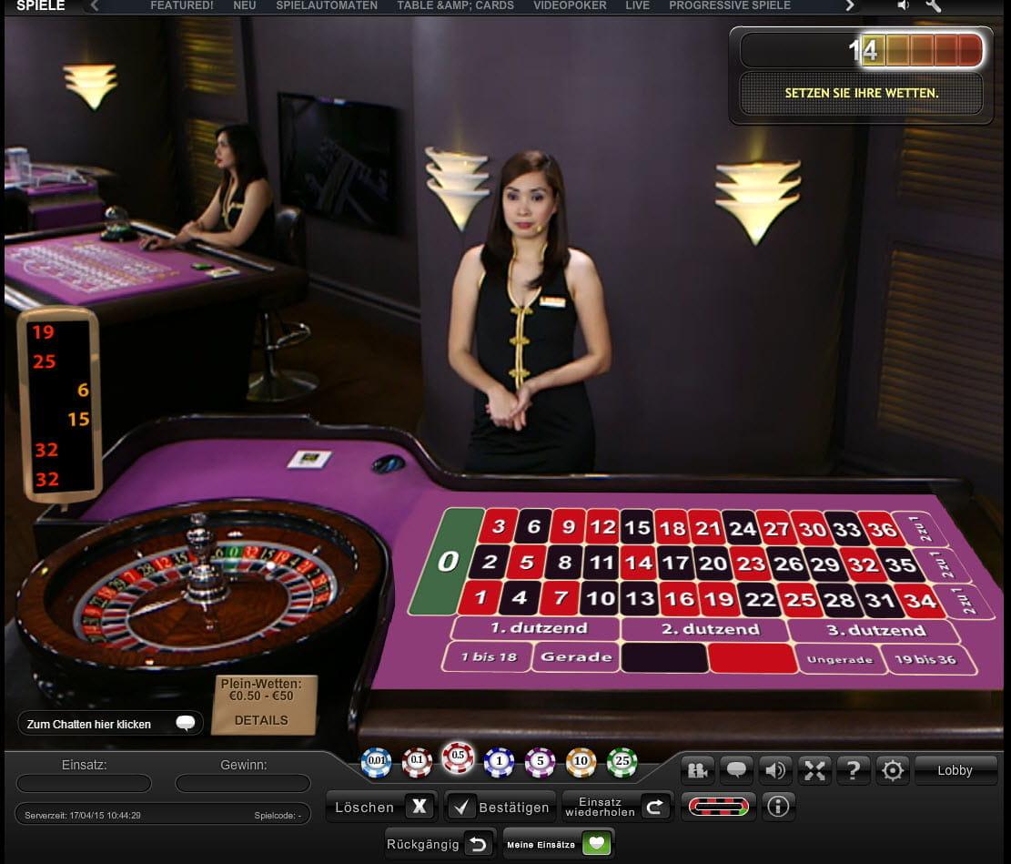 Roulette Tisch 854414