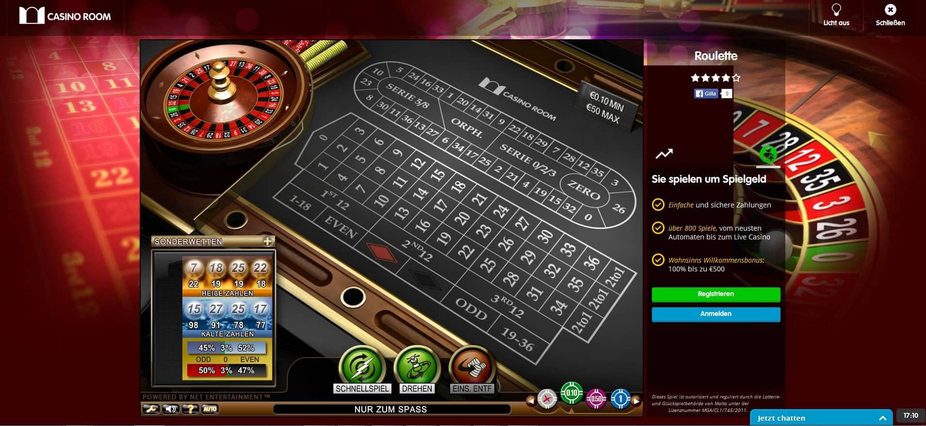 Roulette Erfahrungen Spinland 788789