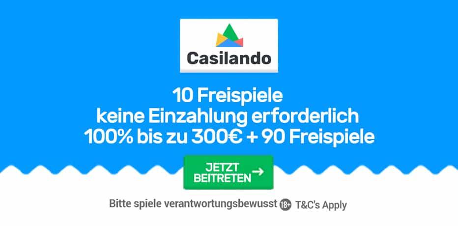 Willkommens Bonus Casilando 692369
