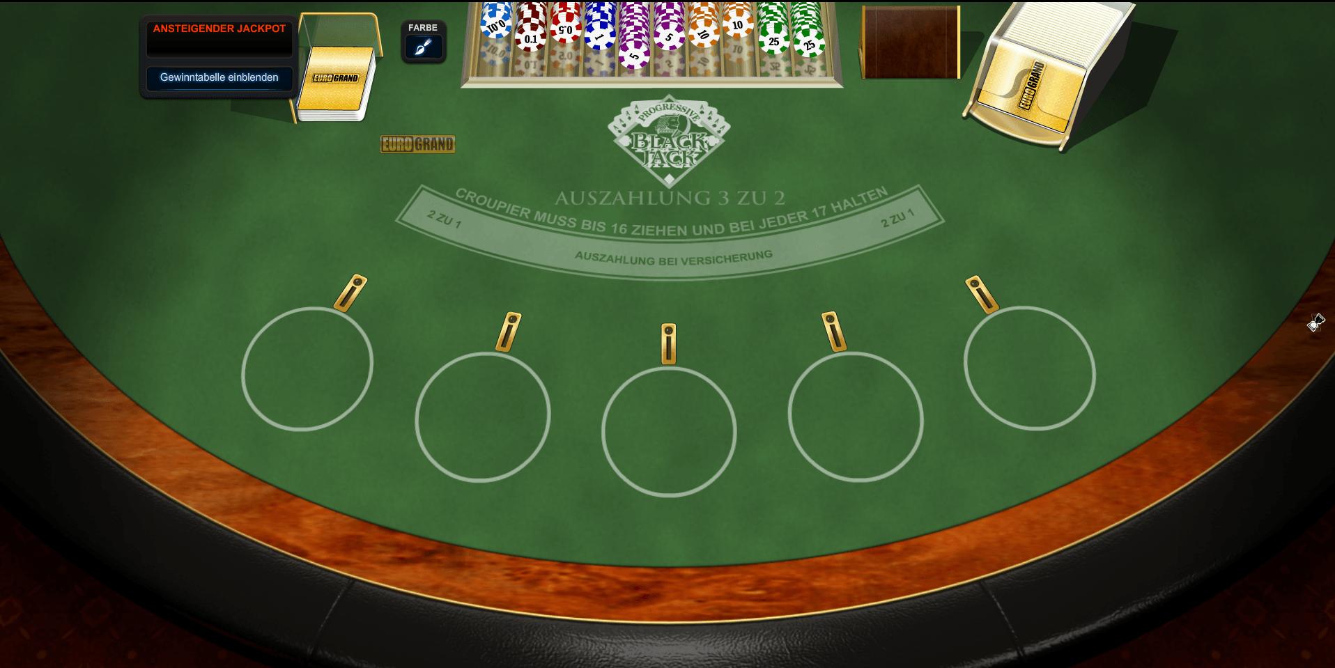 Roulette Tisch Deutschland 518749