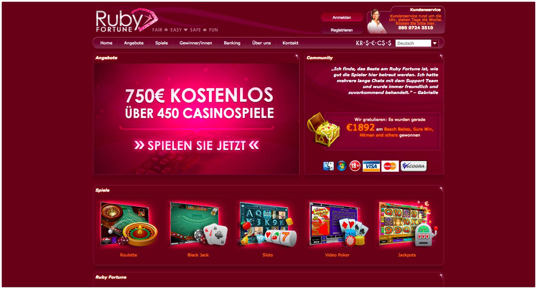 Spiele Casinos Ruby 260388