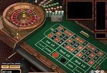 Roulette Rot Schwarz 29218