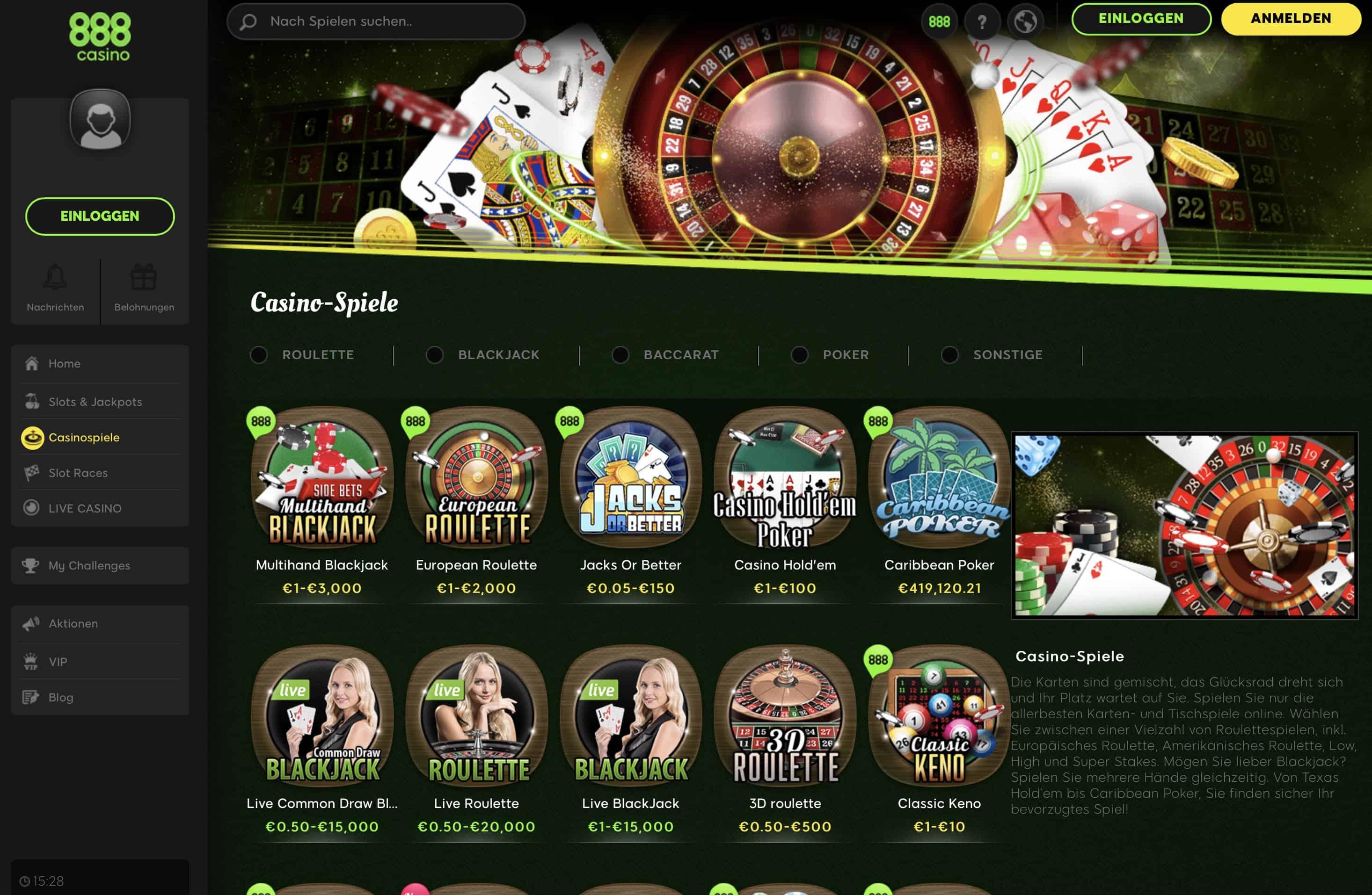 Casino Erfahrungen deutsche 800903