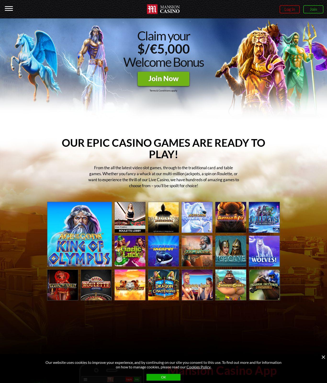 Casino mit 749062