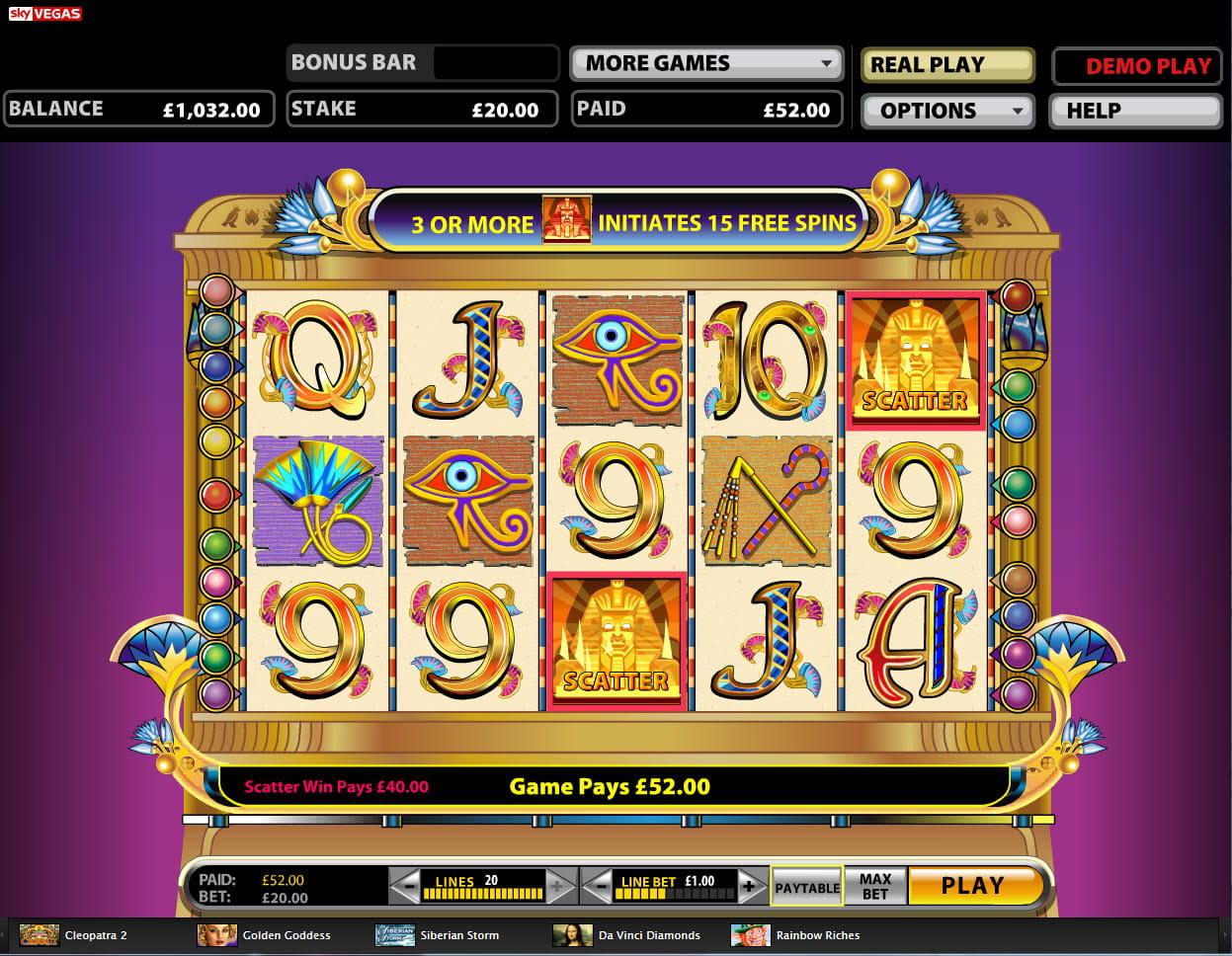 Online Casino Jackpot 103110
