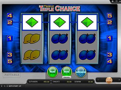 Merkur spielen Triple 951789