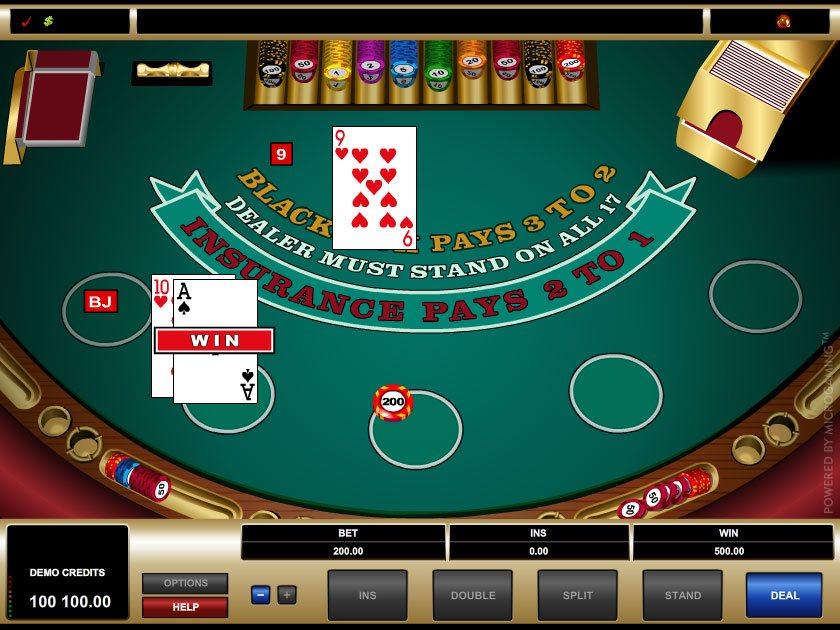 Blackjack Spielgeld 460720