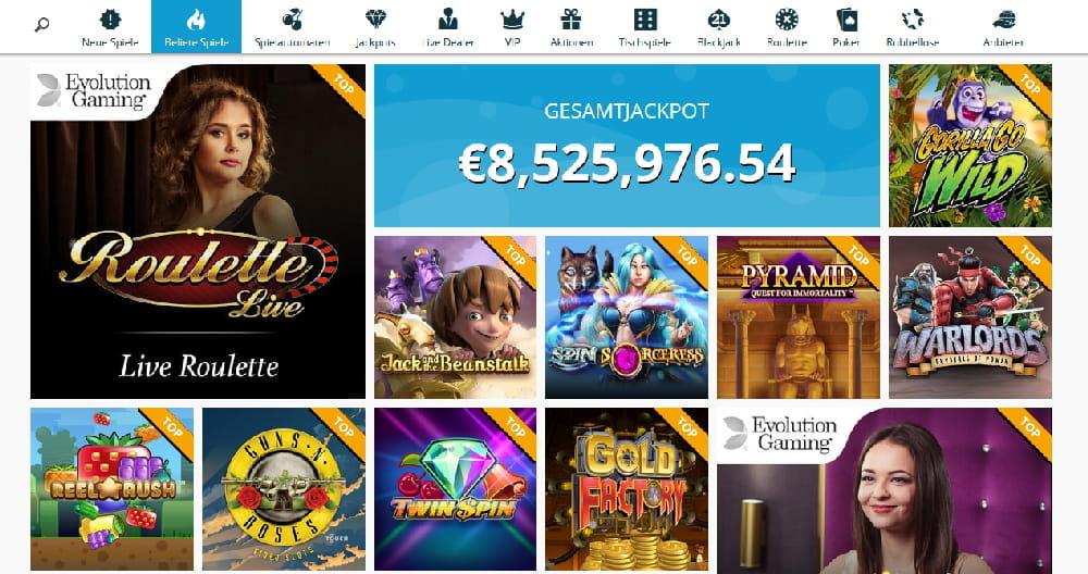 Roulette online Dominator 89877