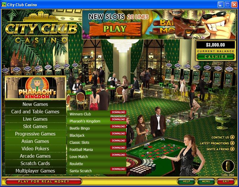 Casino Club Bonus 465394
