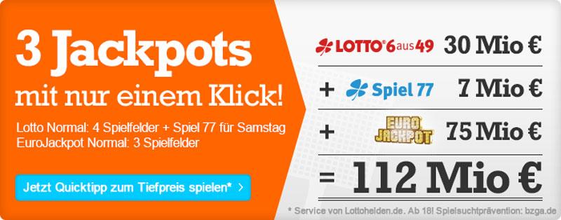 Wirklich Lotto Eurojackpot 756924