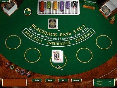 Blackjack Karten 479398