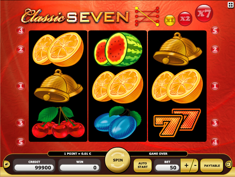 Fruits n Sevens 105179