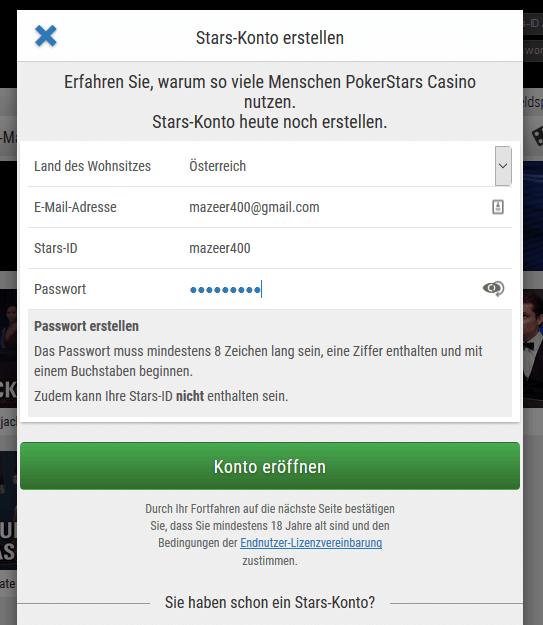 Poker Anmeldung Luckyme 787622