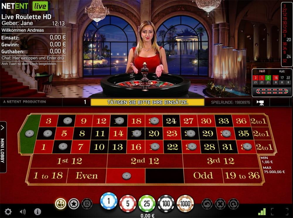 Live Casino 357800