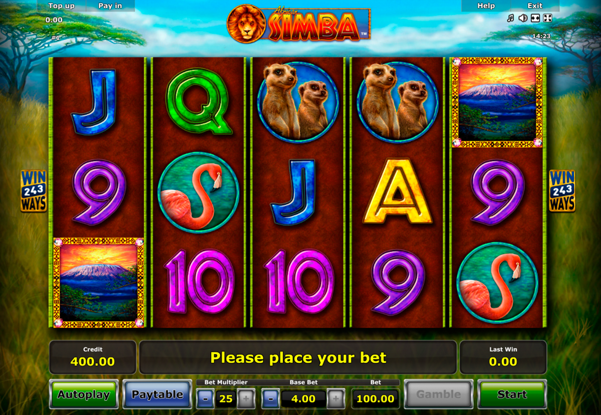 African Simba Bonus 894321