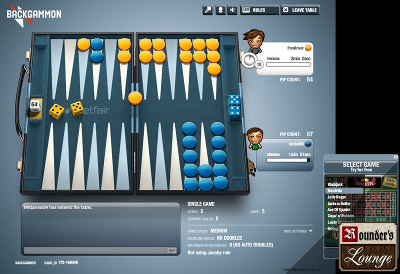Backgammon wirklich 850216