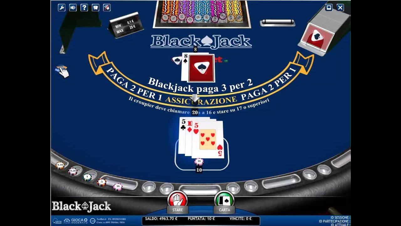 Black Jack Tabelle 493807