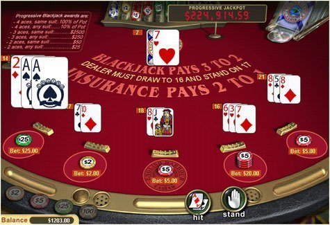 Blackjack Karten 486602