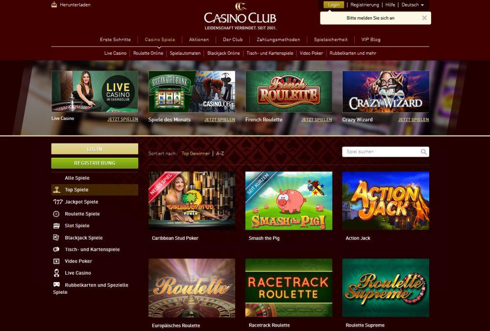 Club Casino Live 417803