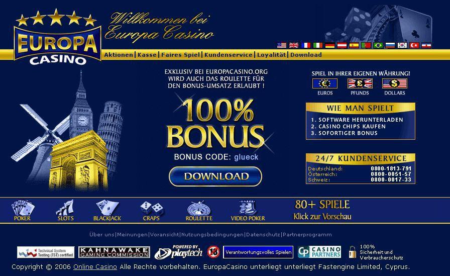 Europa Casino app 325276