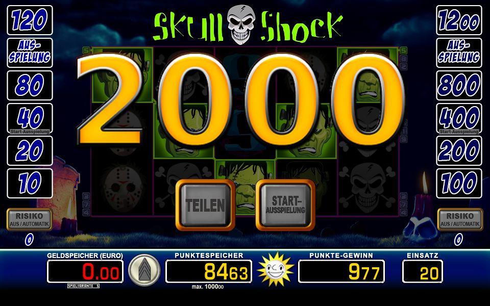 Skull Shock wirklich 400787