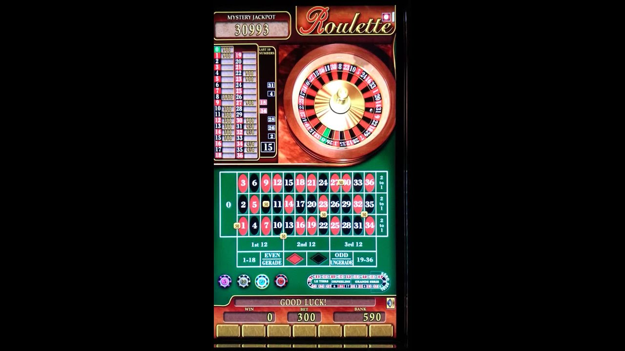 Farbserie Roulette Bally 380196