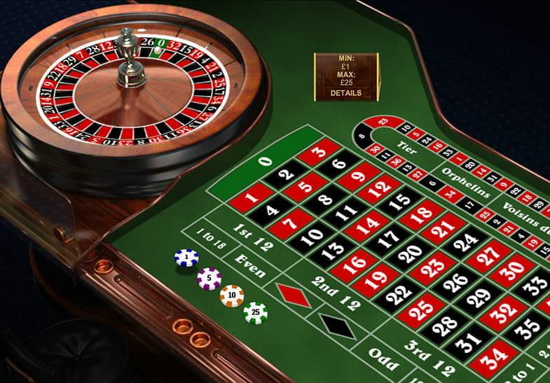 Roulette Rot Schwarz 864060