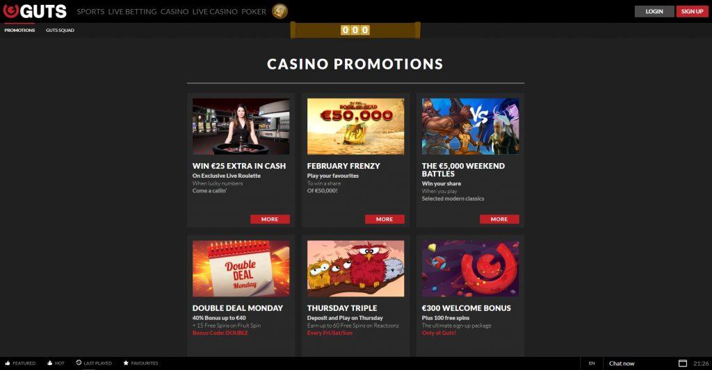 Live Casino online 658854