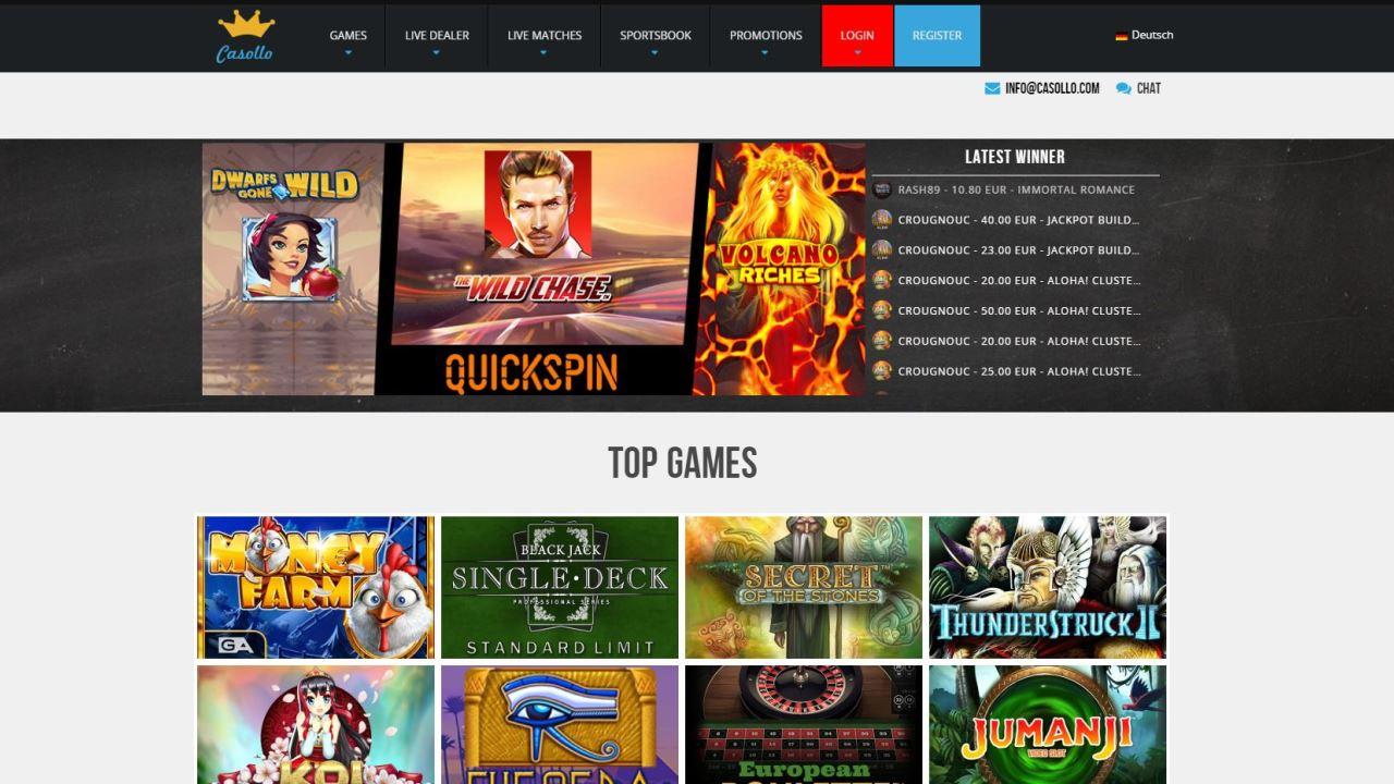 Online Casino Seiten 107064