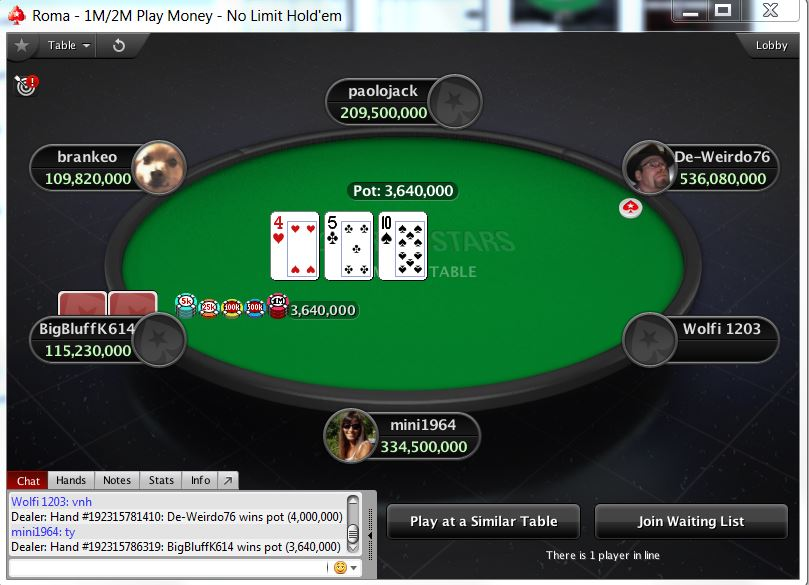 Pokerstars Casino 282891