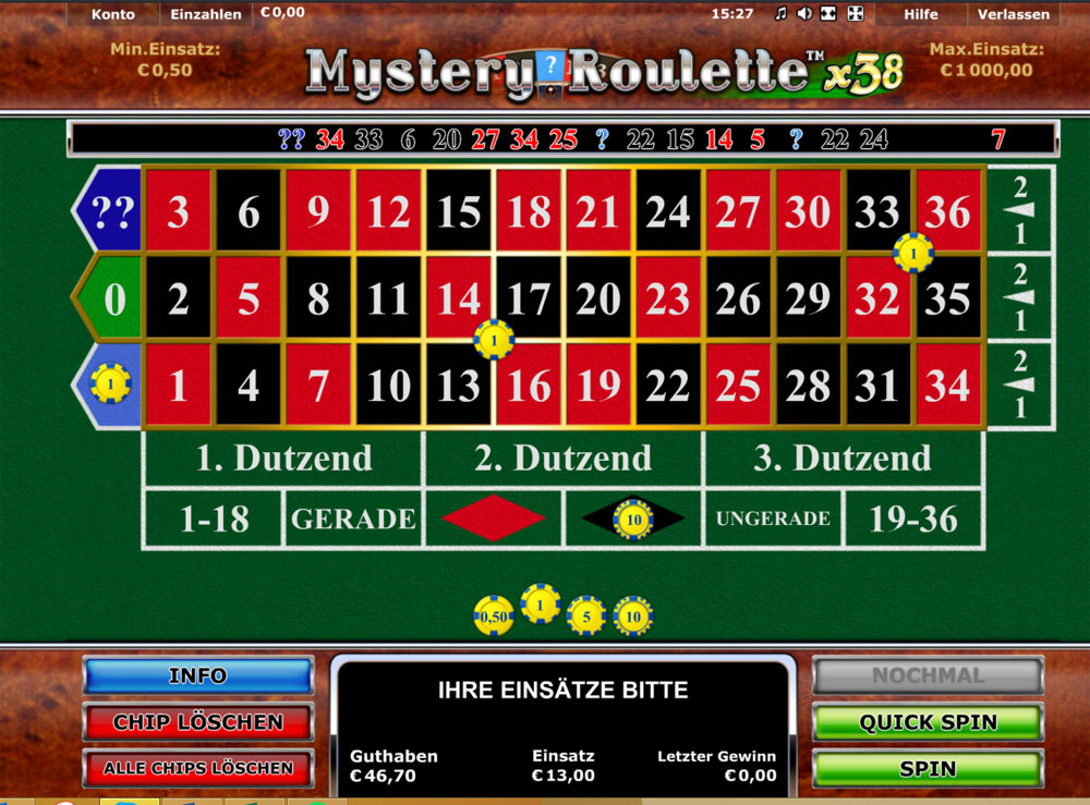Roulette Schnelles 219208