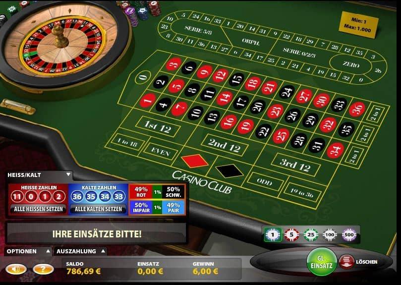 Roulette Tisch Deutschland 509825