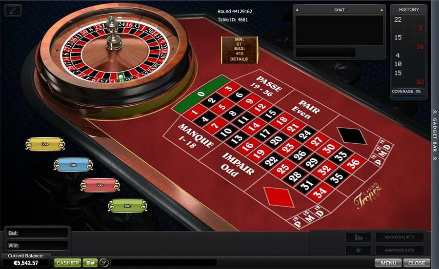 Roulette Tisch Lightning 507201