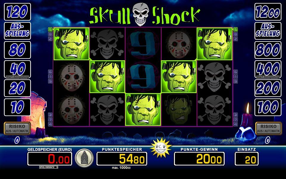 Skull Shock wirklich 405831