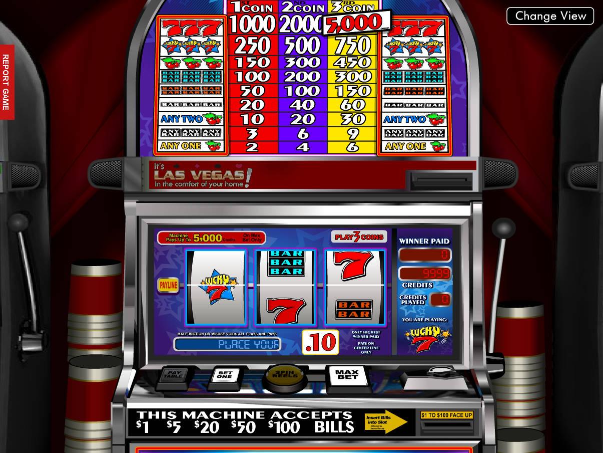 Spielautomat Münzen 97580
