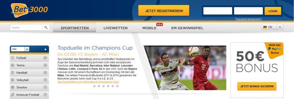 Sportwetten Bonus 956232